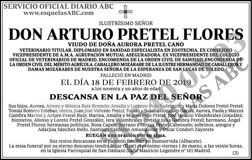 Arturo Pretel Flores