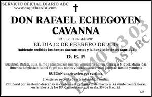 Rafael Echegoyen Cavanna