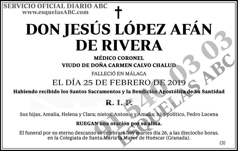 Jesús López Afán de Rivera