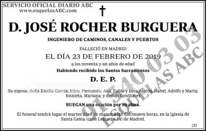 José Rocher Burguera