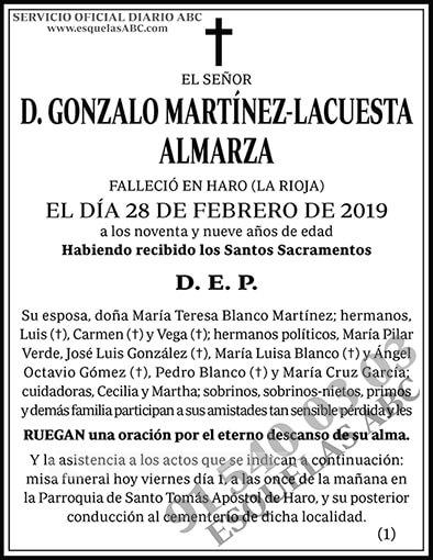Gonzalo Martínez-Lacuesta Almarza