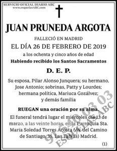 Juan Pruneda Argota