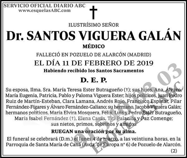 Santos Viguera Galán