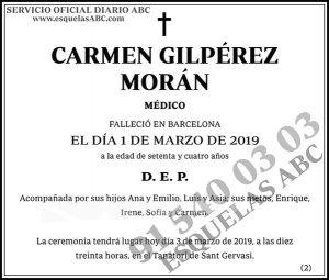 Carmen Gilpérez Morán