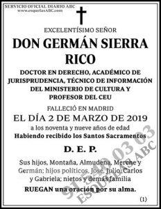 Germán Sierra Rico