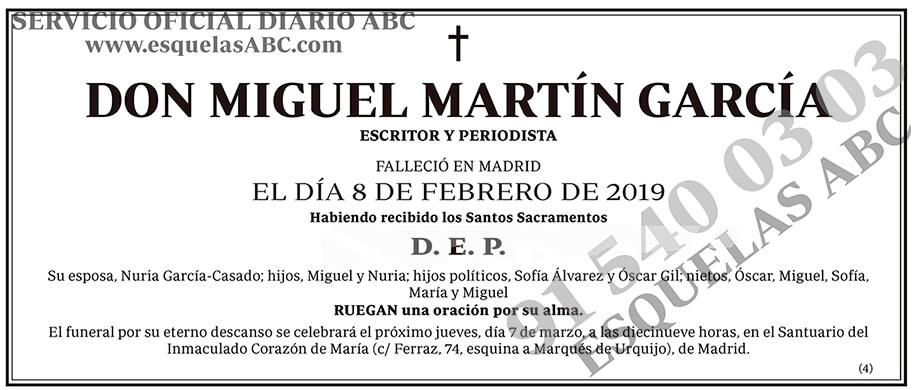 Miguel Martín García