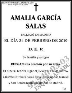 Amalia García Salas