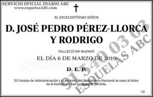 José Pedro Pérez-Llorca y Rodrigo