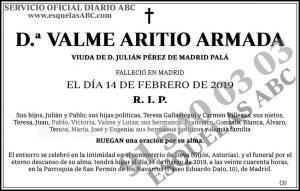 Valme Aritio Armada