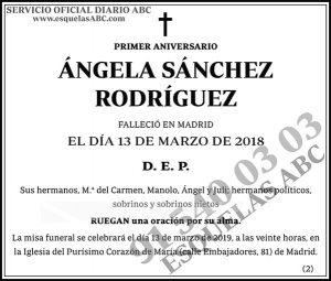 Ángela Sánchez Rodríguez