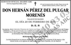 Hernán Pérez del Pulgar Morenés