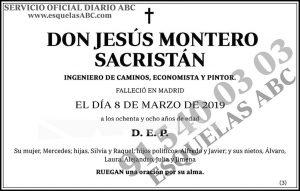 Jesús Montero Sacristán