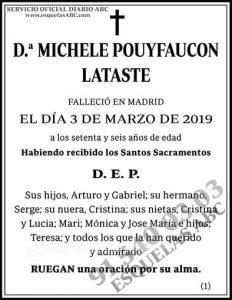 Michele Pouyfaucon Lataste