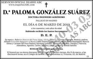 Paloma González Suárez