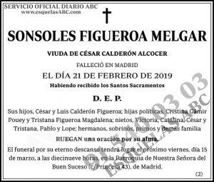 Sonsoles Figueroa Melgar