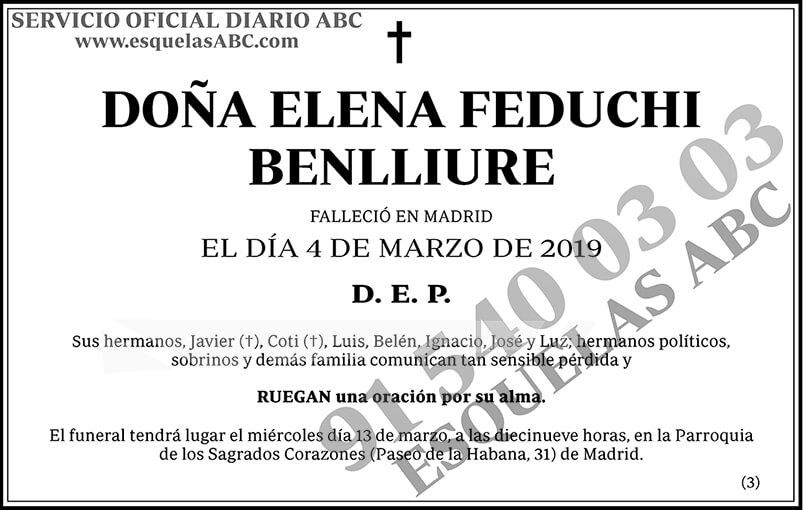 Elena Feduchi Benlliure