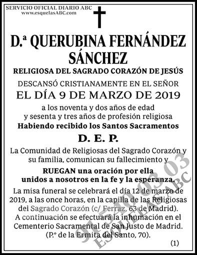 Querubina Fernández Sánchez