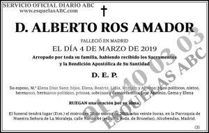 Alberto Ros Amador