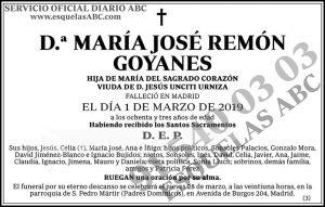 María José Remón Goyanes