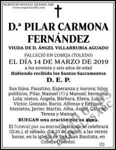 Pilar Carmona Fernández