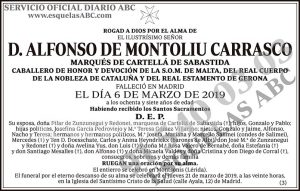 Alfonso de Montoliu Carrasco