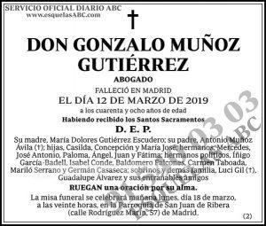 Gonzalo Muñoz Gutiérrez