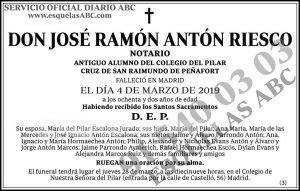 José Ramón Antón Riesco
