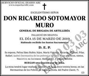 Ricardo Sotomayor Muro