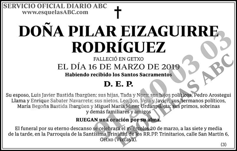 Pilar Eizaguirre Rodríguez