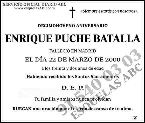 Enrique Puche Batalla