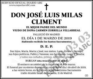 José Luis Milas Climent