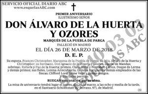 Álvaro de la Huerta y Ozores