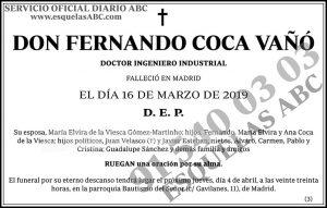 Fernando Coca Vañó
