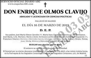 Enrique Olmos Clavijo