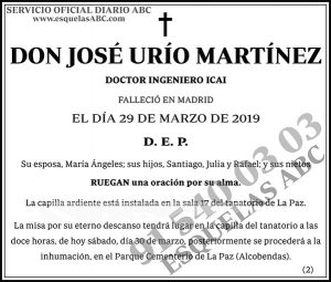 José Urío Martínez
