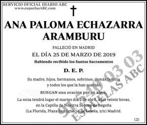 Ana Paloma Echazarra Aramburu