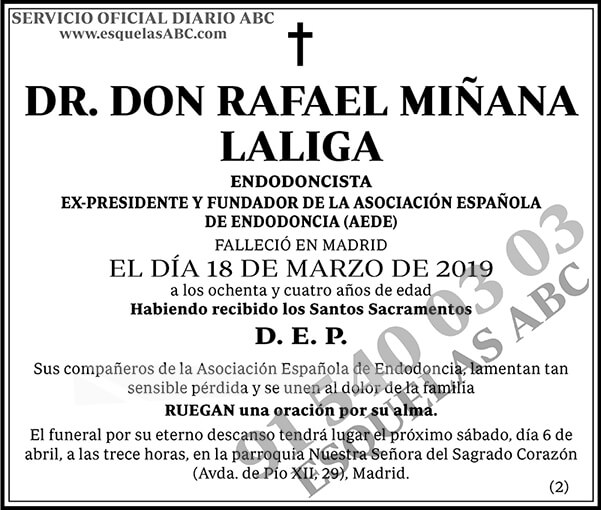 Rafael Miñana Laliga