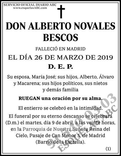Alberto Novales Bescos