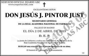 Jesús J. Pintor Just
