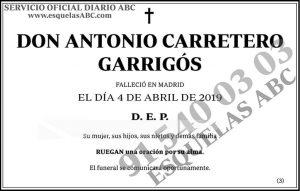 Antonio Carretero Garrigós