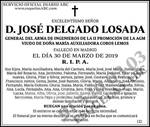 José Delgado Losada