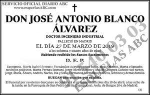 José Antonio Blanco Álvarez