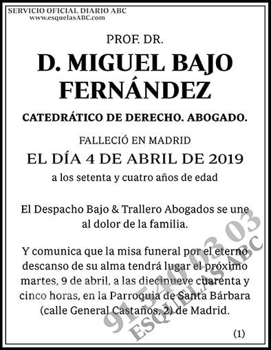 Miguel Bajo Fernández