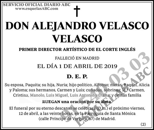 Alejandro Velasco Velasco