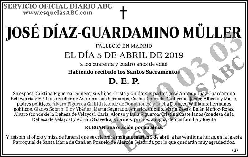José Díaz-Guardamino Müller