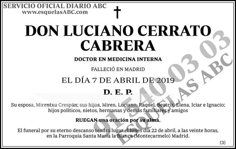 Luciano Cerrato Cabrera