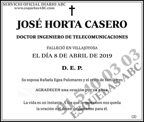 José Horta Casero
