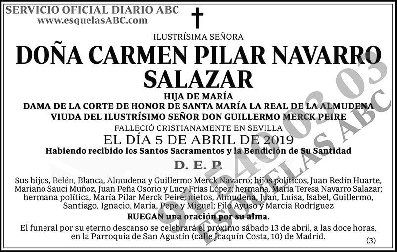 Carmen Pilar Navarro Salazar