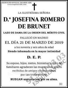 Josefina Romero de Brunet