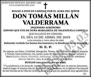 Tomás Millán Valderrama